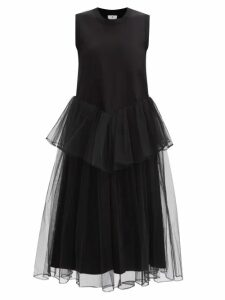 Rochas - Prosa Gathered Faille Gown - Womens - Green