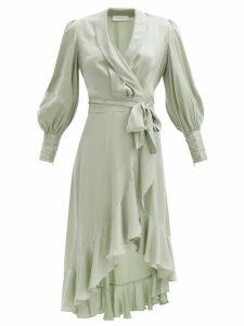 Prada - Crystal Chunky Knit Wool Sweater - Womens - Red