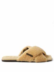 Dolce & Gabbana - Geranium Print Macramé Hem Poplin Midi Skirt - Womens - Red Multi