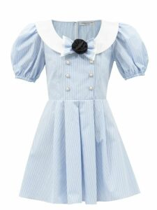 Marni - Patchwork Denim Coat - Womens - Denim