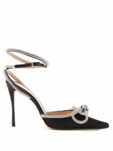 Allude - Funnel Neck Cashmere Sweater - Womens - Dark Grey