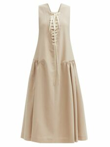 Galvan - Stardust Sequinned Chiffon Gown - Womens - Silver