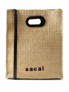 Alexandre Vauthier - Double Breasted Pinstriped Wool Blend Blazer - Womens - Grey Multi