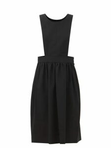 Pleats Please Issey Miyake - Tie Waist Tech Pleated Skirt - Womens - Yellow