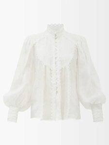 Prada - Double-breasted Nylon Trench Coat - Womens - Navy