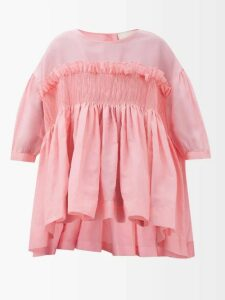 Max Mara Studio - Abito Coat - Womens - Light Blue