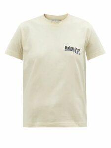 Ganni - Tiger Print Organza Dress - Womens - Brown