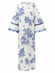 Marni - Paisley Print Dress - Womens - Red Multi