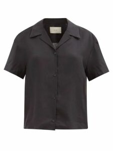 Apiece Apart - Sabrina Cotton Poplin Mini Shirt Dress - Womens - Light Blue