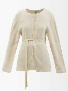 Mm6 Maison Margiela - Open Back Panelled Denim Dress - Womens - Light Denim