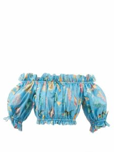 Gabriela Hearst - Gertrude Aloe Infused Linen Dress - Womens - Navy