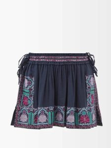 Staud - Amaretti Cotton Poplin Maxi Dress - Womens - Light Yellow
