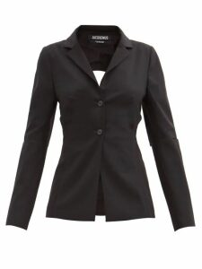 Bella Freud - Nova Balloon Sleeve Crepe Dress - Womens - Green