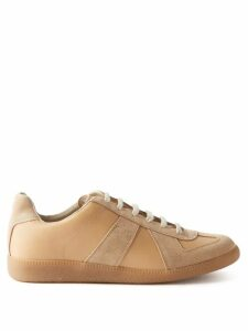 Shrimps - Patrick Leopard Print Faux Fur Coat - Womens - Navy