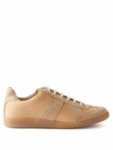 Shrimps - Patrick Leopard-print Faux-fur Coat - Womens - Navy
