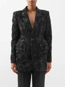 Shrimps - Zio Faux Fur Jacket - Womens - Blue
