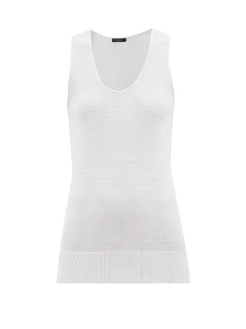 The Row - Stratski Wool Blend Midi Skirt - Womens - Navy