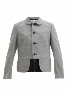 Officine Générale - Elsa Leopard Print Wool Blend Belted Coat - Womens - Multi