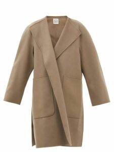 Borgo De Nor - Alix Ruffled Floral Print Muslin Blouse - Womens - Red Print