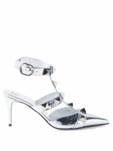 Proenza Schouler - Tie Dye Velvet Midi Skirt - Womens - Blue Multi