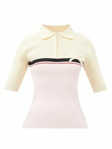 Simone Rocha - Pintuck Pleated Poplin Midi Dress - Womens - Blue