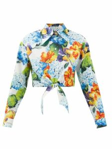Simone Rocha - Tiered Lace Midi Skirt - Womens - Black