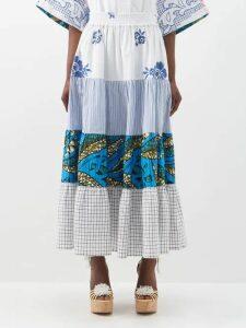 The Attico - Sequinned Mini Skirt - Womens - Multi