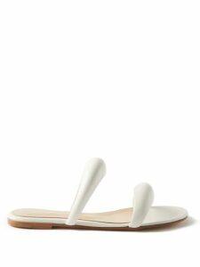 Mark Cross - Gianna Gold Plated Oval Lizard Skin Bag - Womens - Burgundy