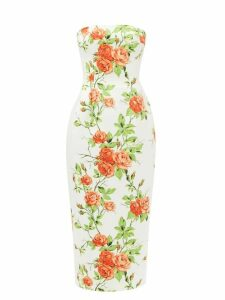 Balenciaga - Sharp Xs Logo Embossed Leather Bag - Womens - Black