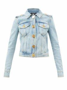 Alexander Mcqueen - Box 21 Crocodile Effect Leather Cross Body Bag - Womens - Burgundy