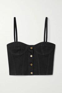 Valentino - Valentino Garavani The Rockstud Leather Shoulder Bag - Pink