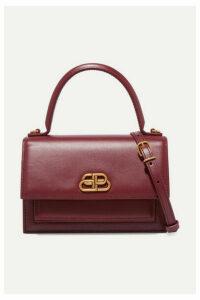 Balenciaga - Sharp Xs Leather Shoulder Bag - Red