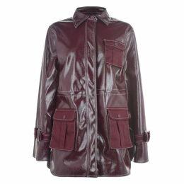 Ganni Pvc Rain Jacket