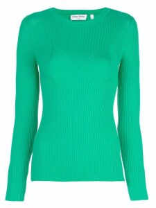 Opening Ceremony ribbed knitted top - Green