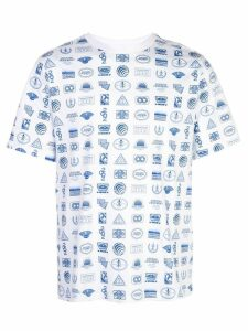 Opening Ceremony all-over multi logo T-shirt - White