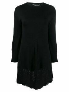 Philosophy Di Lorenzo Serafini lace hem sweater dress - Black