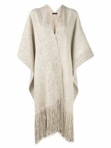 Voz tatoo duster kaftan - Brown