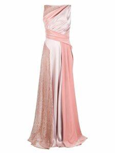 Talbot Runhof Solymar dress - Pink