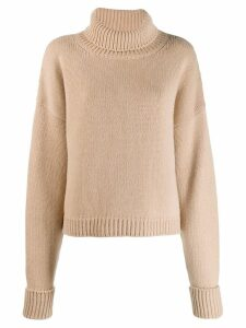 Maison Margiela roll neck jumper - Neutrals