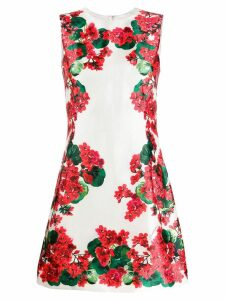 Dolce & Gabbana floral print dress - White