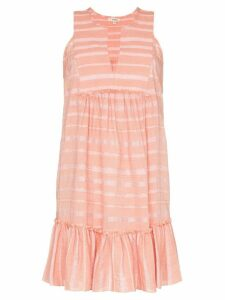 Lemlem Tatyu ruffled mini-dress - Pink