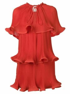 Stella McCartney tiered bow detail dress