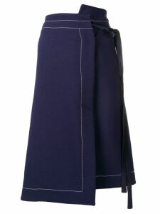 Marni wrap skirt - Blue