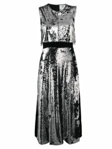 Stella McCartney sleeveless sequin dress - Silver