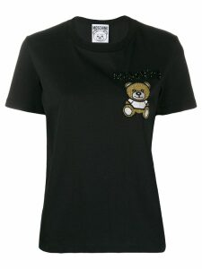 Moschino beaded Teddy Bear T-shirt - Black
