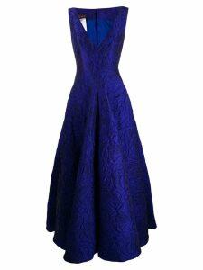 Talbot Runhof Tottori dress - Blue