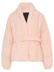 Alexandre Vauthier oversized puffer jacket - Pink