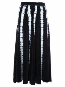 Proenza Schouler Tie Dye Skirt - Black