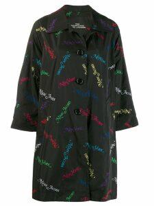MARC JACOBS New York print coat - Black