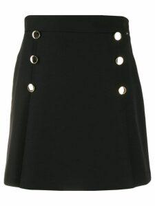 Liu Jo button-detail short skirt - Black